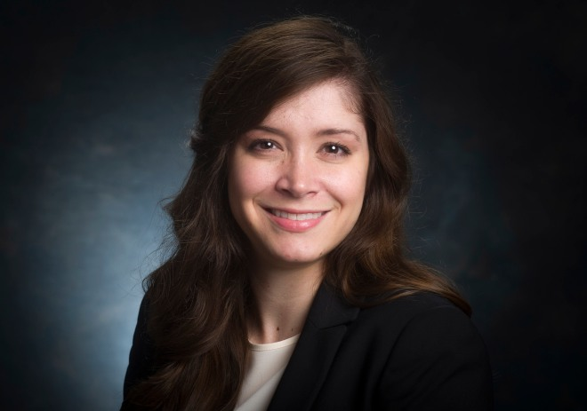 Head shot of Julie McKinney, MS (Communications and Events Specialist, Graduate School), 2016.